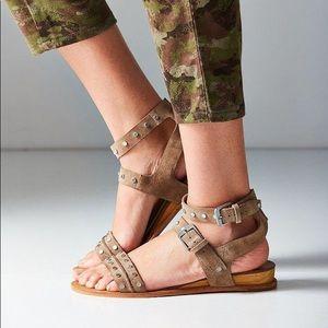 Dolce Vita Prim Studded Suede Sandal